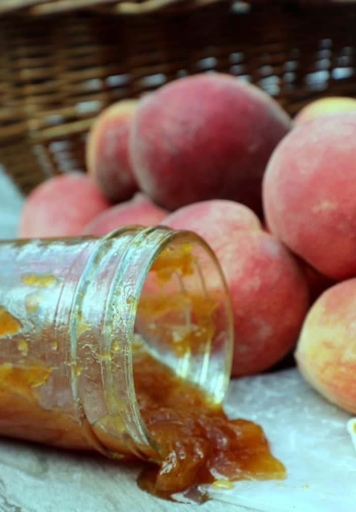 Crockpot Peach Butter 1