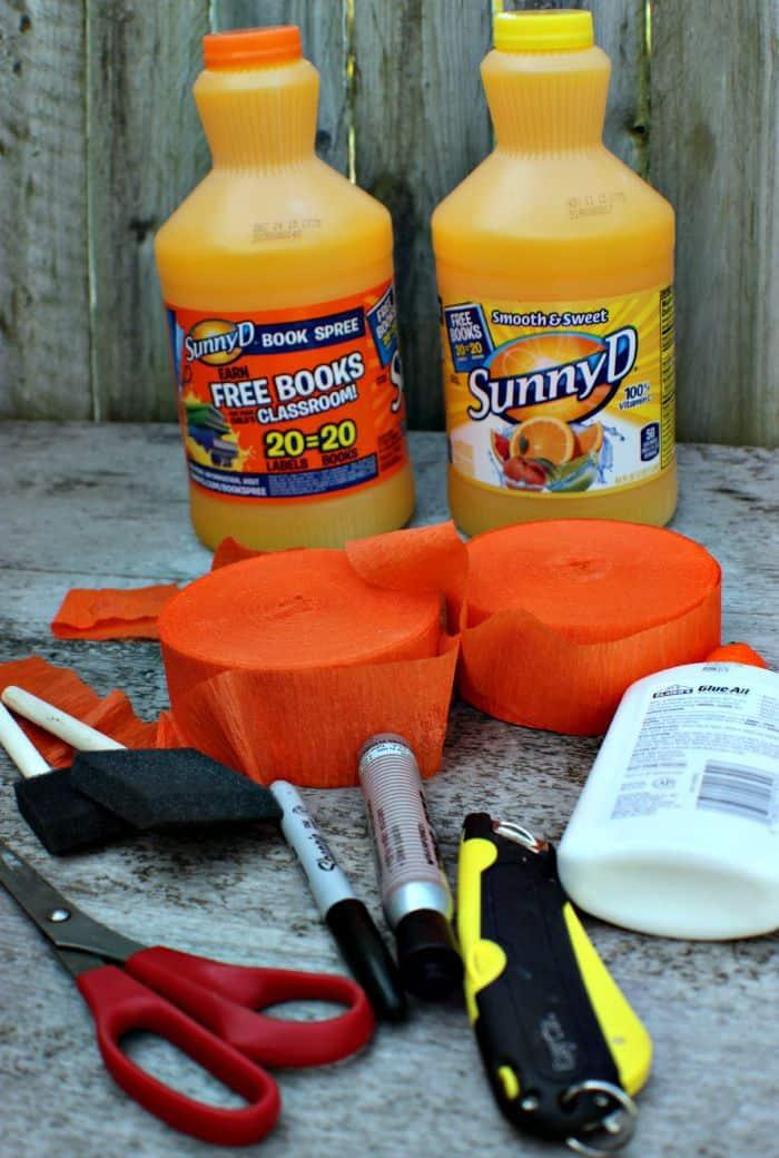 Pumpkin Luminaries Supplies