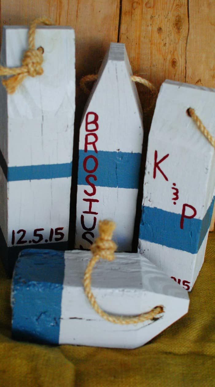DIY Nautical Buoys