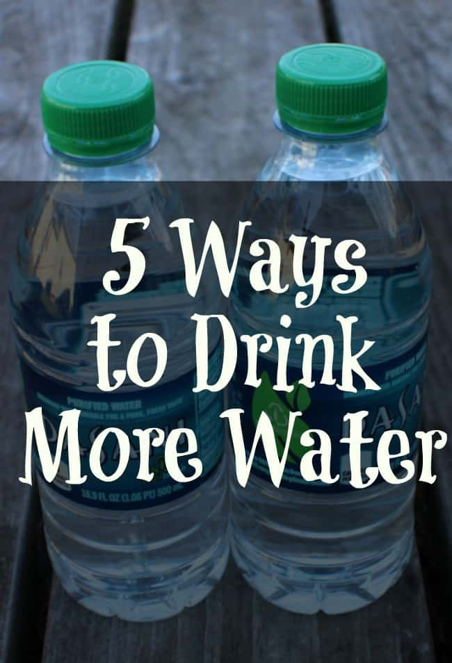 5 Ways to Drink More Water