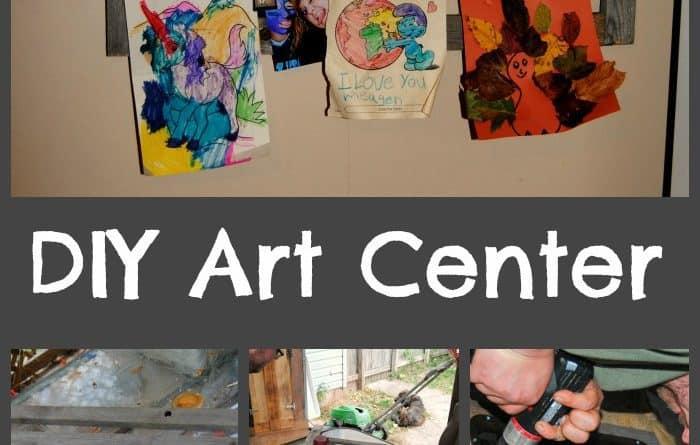 DIY Art Center www.just2sisters.com