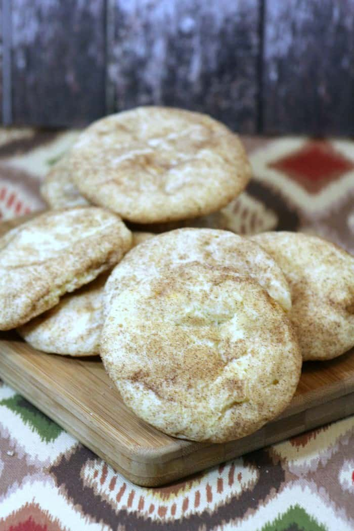 Snickerdoodle Cookies are a classic holiday cookie recipe