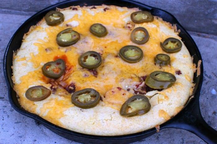 Spicy Chili Dog Casserole Jalapenos
