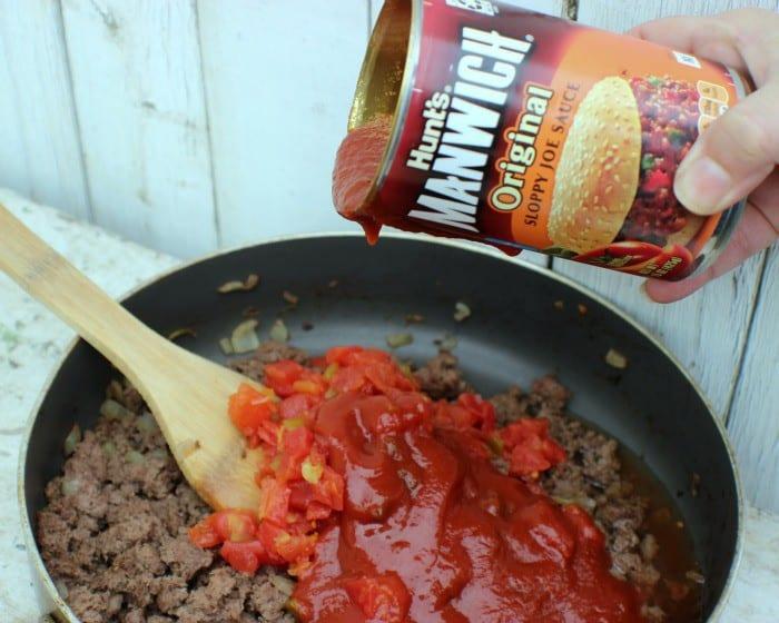 Spicy Chili Dog Casserole Manwich