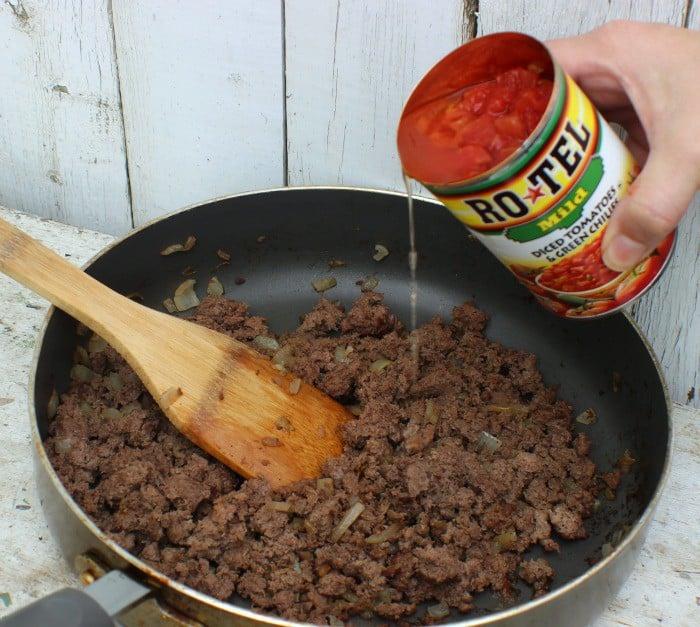 Spicy Chili Dog Casserole RoTel