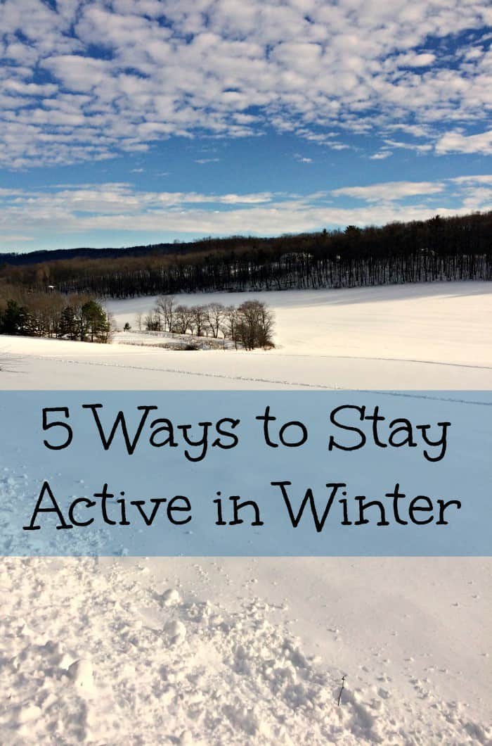 5 Ways to Stay Active in Winter