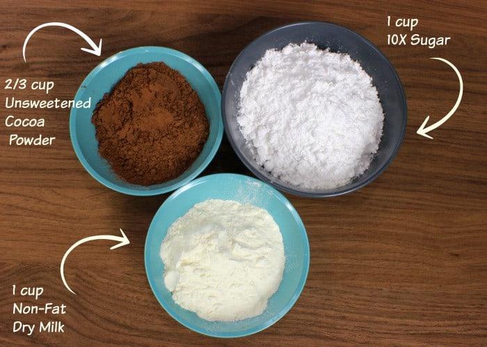 DIY Hot Chocolate Mix Ingredients