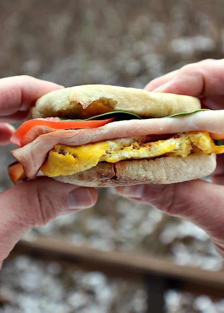 High Protein Breakfast Sandwich 3 WW Freestyle Points