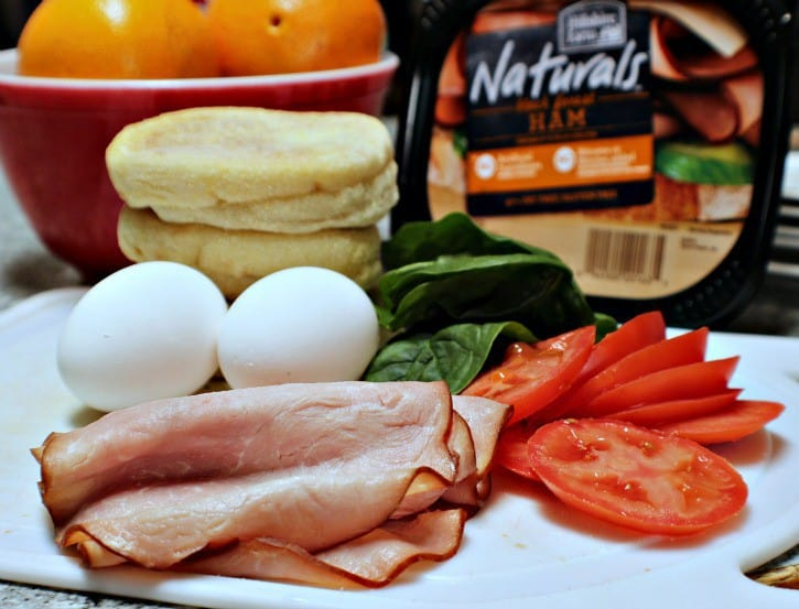 High Protein Breakfast Sandwich 3 WW Freestyle Points