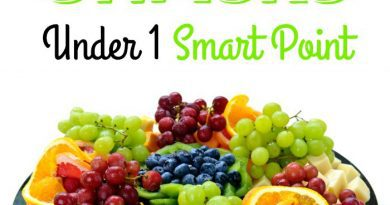Weight Watchers Snacks Under 1 Smart Point just2sisters.com