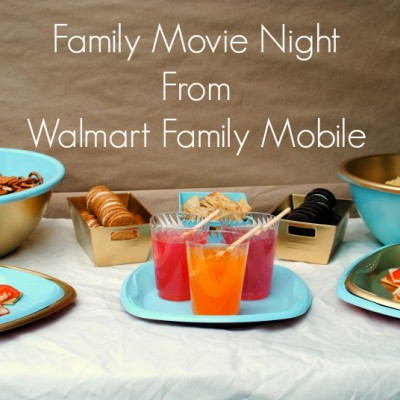 Family Movie Night from Walmart Family Mobile just2sisters.com