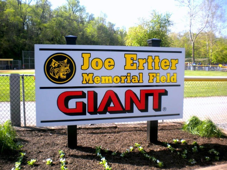 joe ertter memorial field