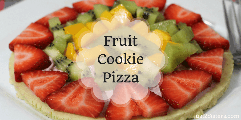 This delicious Fruit Cookie Pizza is perfect for hot summer days, picnics, and more! Easy to make, use your favorite fruits!