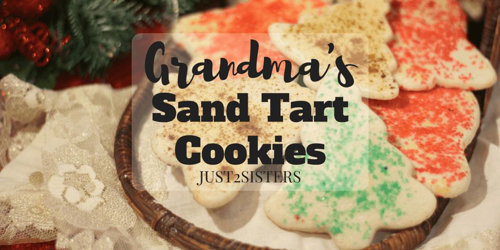 Grandma's Sand Tart Cookies Recipe
