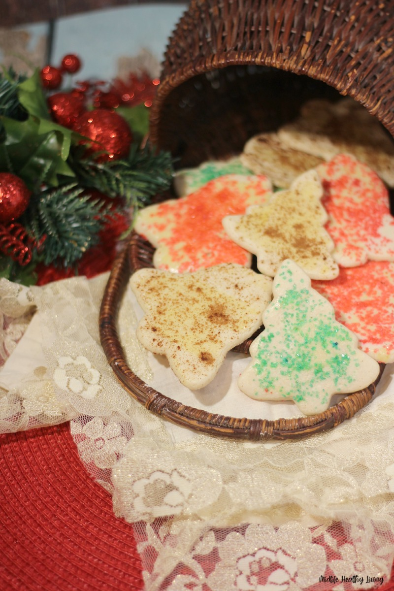 a look at a plate of the finished cookies ready to serve.
