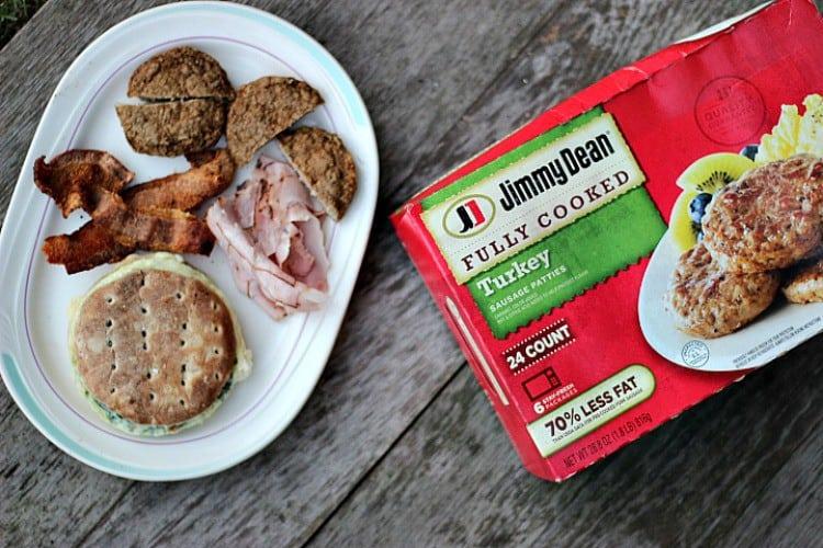 Easy Breakfast Sandwich Ideas. Jimmy Dean Turkey Sausage