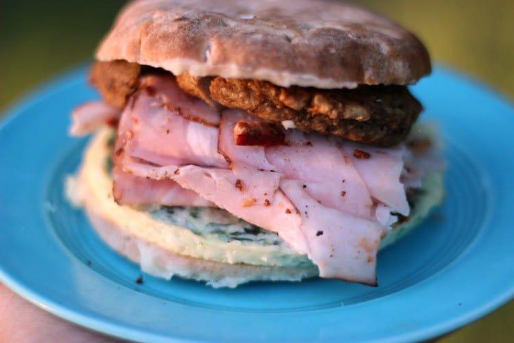 Easy Breakfast Sandwich Ideas. Meat Lovers