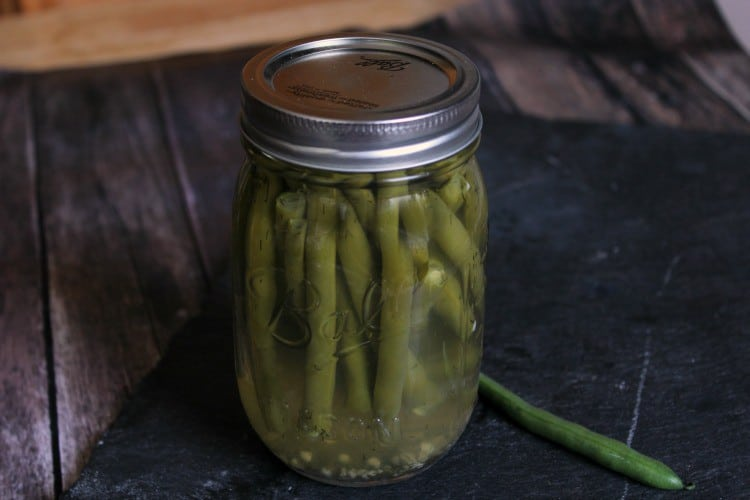 Garlic Dill Green Beans can be easily canned in an electric pressure cooker.