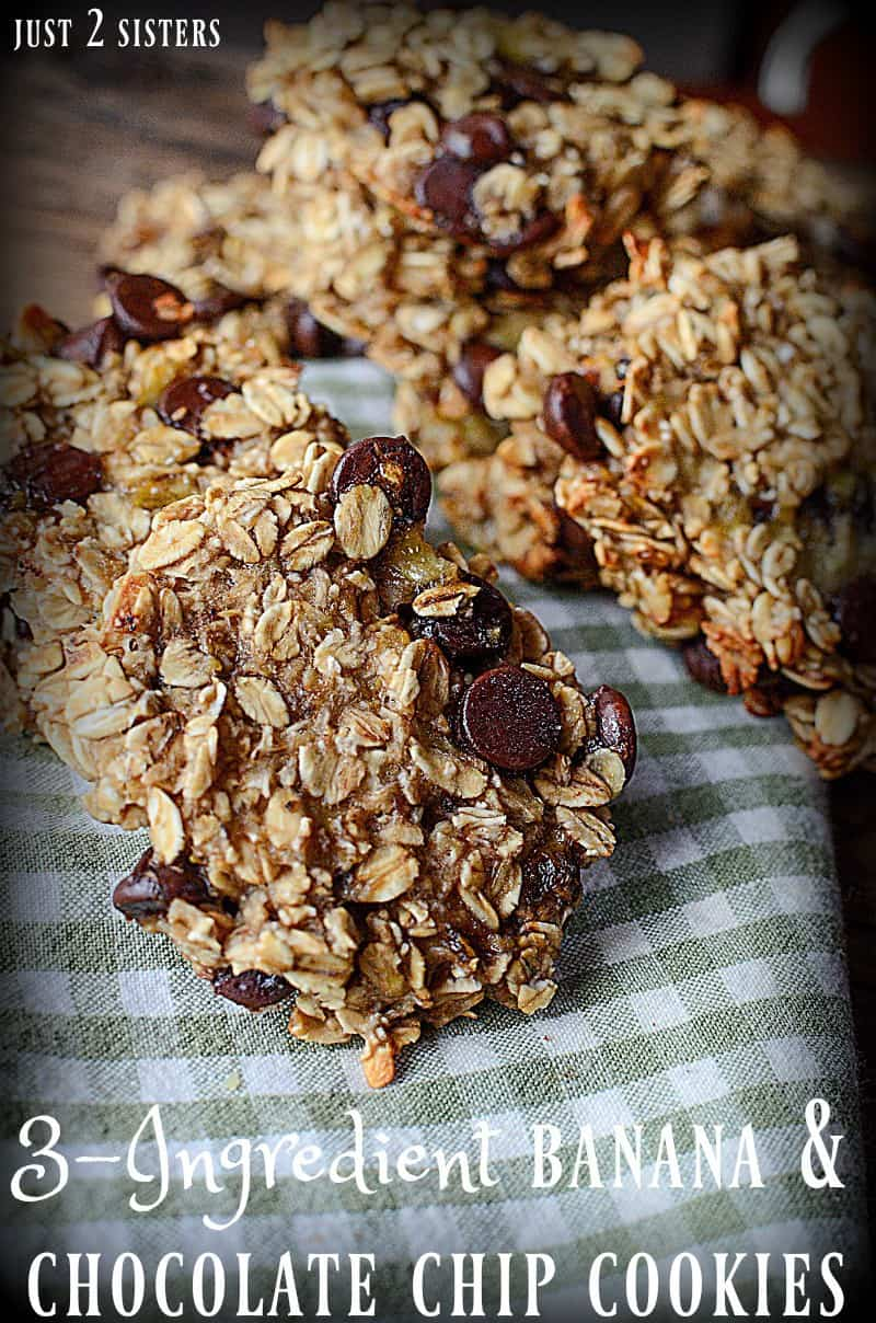 This simple breakfast cookie recipe sounds amazing! I love chocolate chips and bananas together.