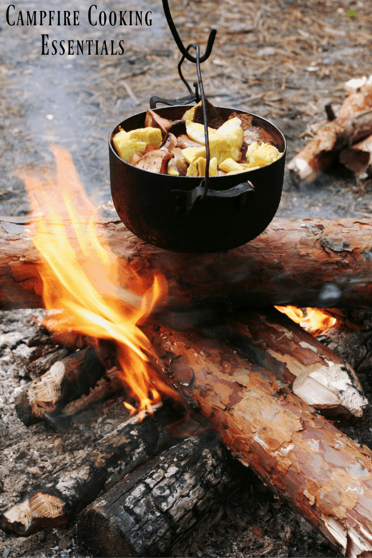 Campfire cooking essentials will make sure you are prepared for any camping cookout throw down.