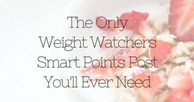My ever popular Weight Watchers post as been updated! Now you have Weight Watchers Smart Points included, the only WW post you'll ever need!