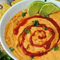Lime Sriracha Hummus Recipe