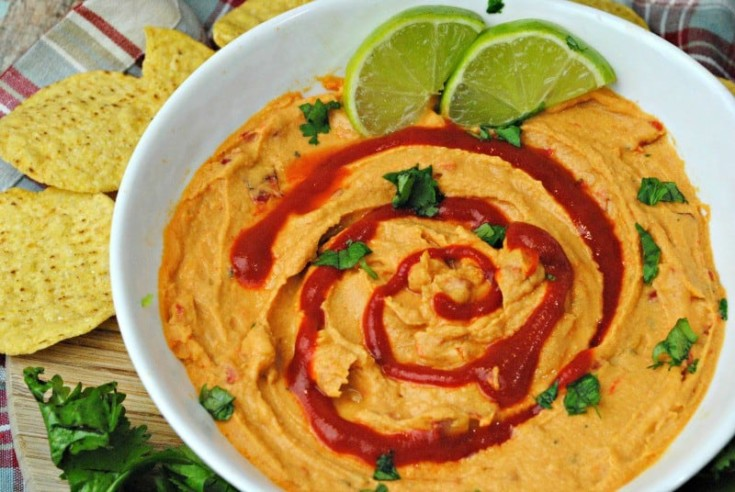 Lime Sriracha Hummus Recipe