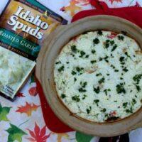 Garlic Mashed Potato Stuffing Casserole