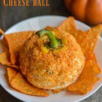 Easy Pumpkin Cheese Ball