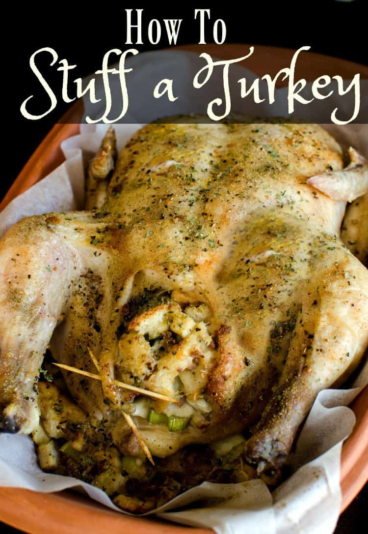 Learning to stuff a turkey is easier than you think. You can stuff a turkey or chicken any time of the year and enjoy a delicious Thanksgiving style meal at home.