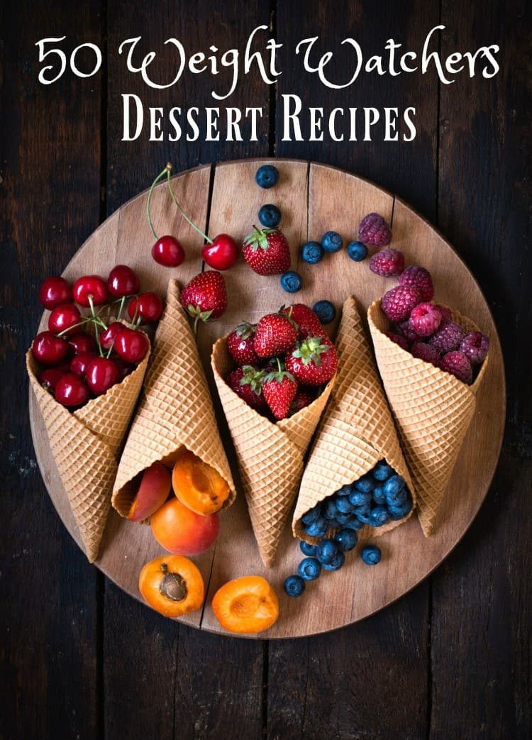 50 Weight Watchers dessert recipes to satisfy your sweet tooth.