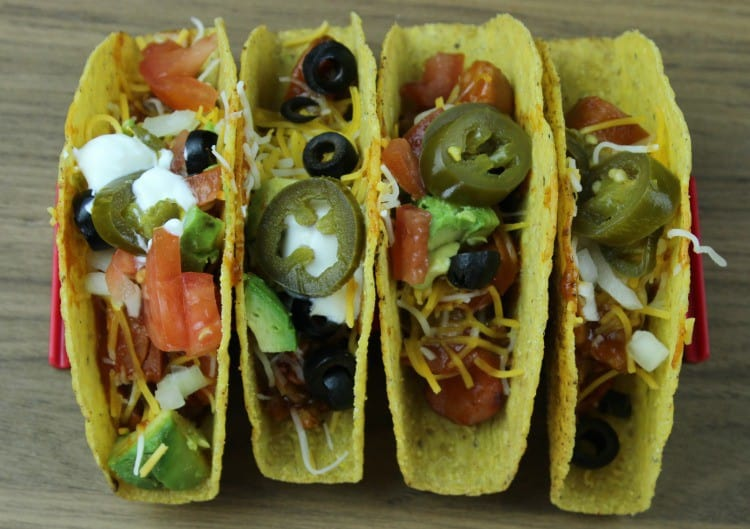 Serve Chili Dog Taco Boats on the Big Game Day