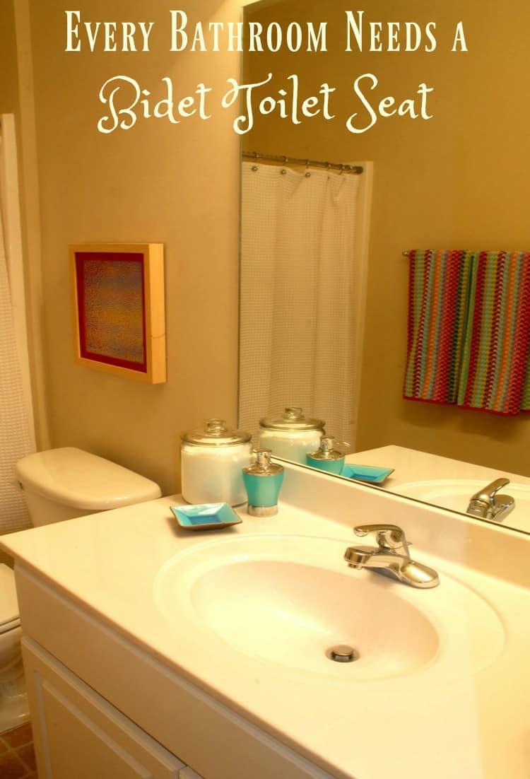 Every Bathroom Needs a Bidet Toilet Seat