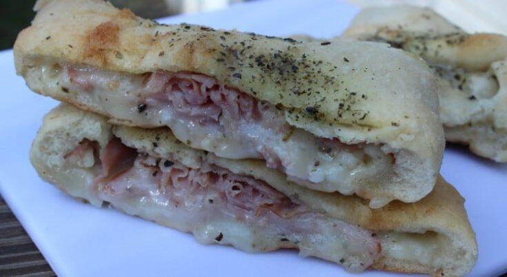 Ham and Cheese Calzone Recipe