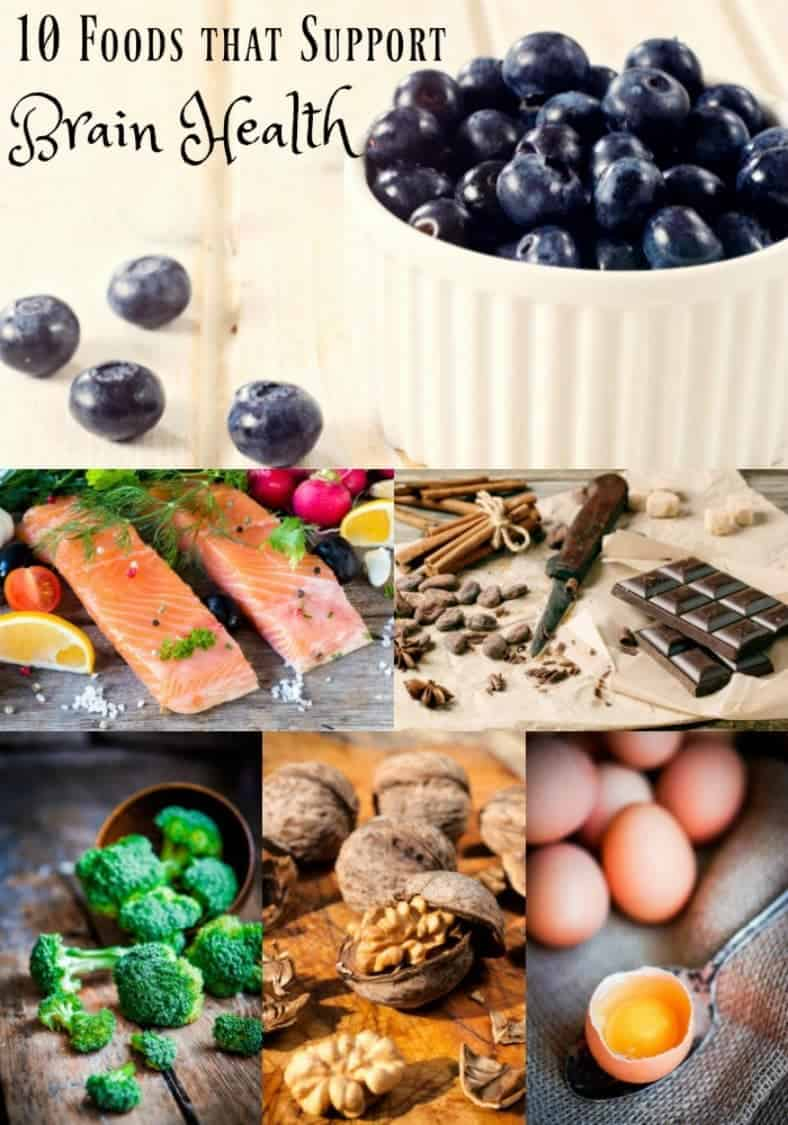 10 Foods that Support Brain Health