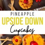 When you can pick up a sweet treat and eat it with your hands you have found the pot of gold.These pineapple upside down cupcakes are delish.