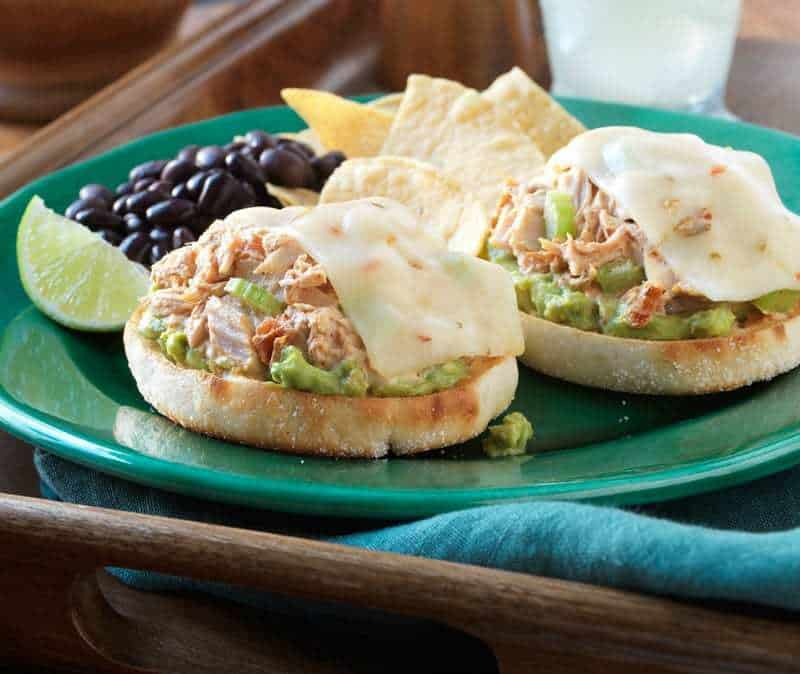 South of the Border Tuna Melt Recipe