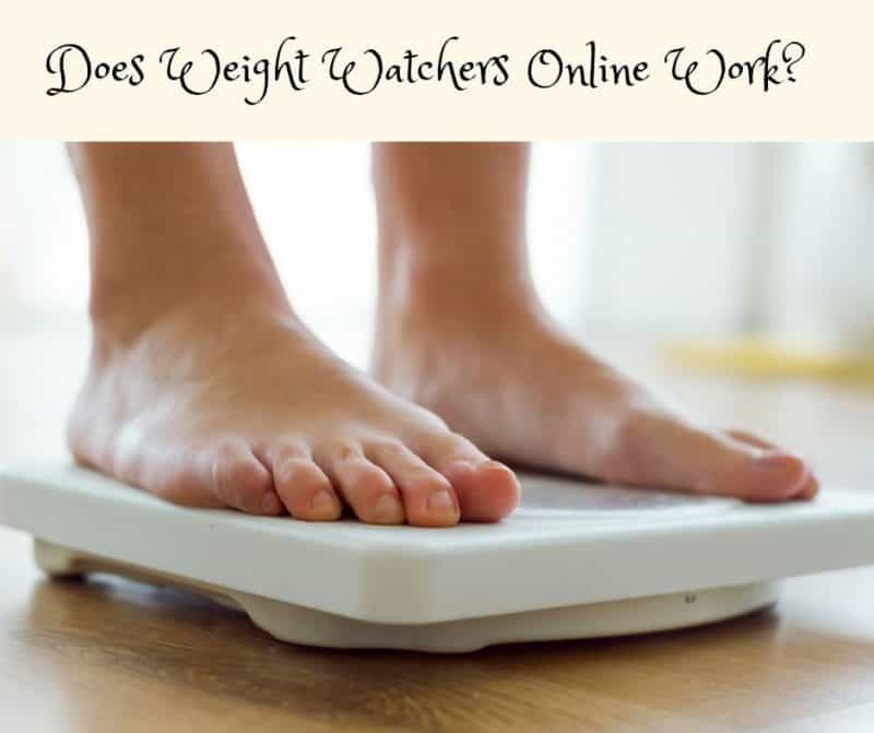Does Weight Watchers Online Work?