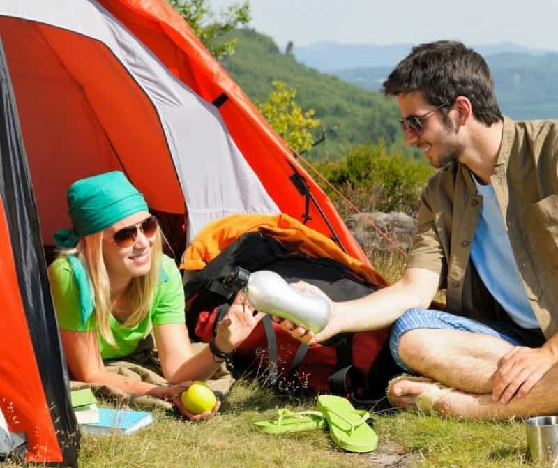 planning romantic camping getaways