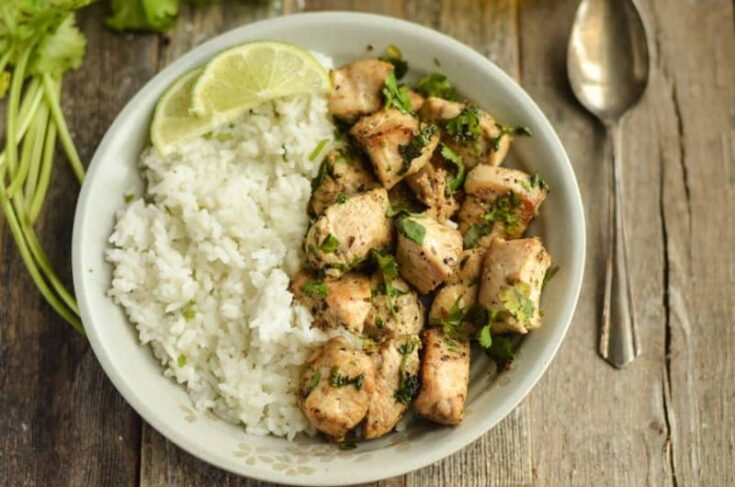 Cilantro Lime Chicken Weight Watchers Friendly!
