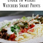 My Weight Watchers app is my best friend. To make this process quick and easy, here are the Taco Bell menu options under 10 Weight Watchers Smart Points.