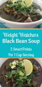 Cooler temperatures require a hearty soup recipe, and our Weight Watchers Black bean Soup is packed full of flavor! Instant Pot Recipes | Instant Pot Weight Watchers Recipes | Weight Watchers Black Bean Soup | Weight Watchers Black Bean IP Soup