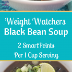 Cooler temperatures require a hearty soup recipe, and our Weight Watchers Black bean Soup is packed full of flavor! Instant Pot Recipes   Instant Pot Weight Watchers Recipes   Weight Watchers Black Bean Soup   Weight Watchers Black Bean IP Soup