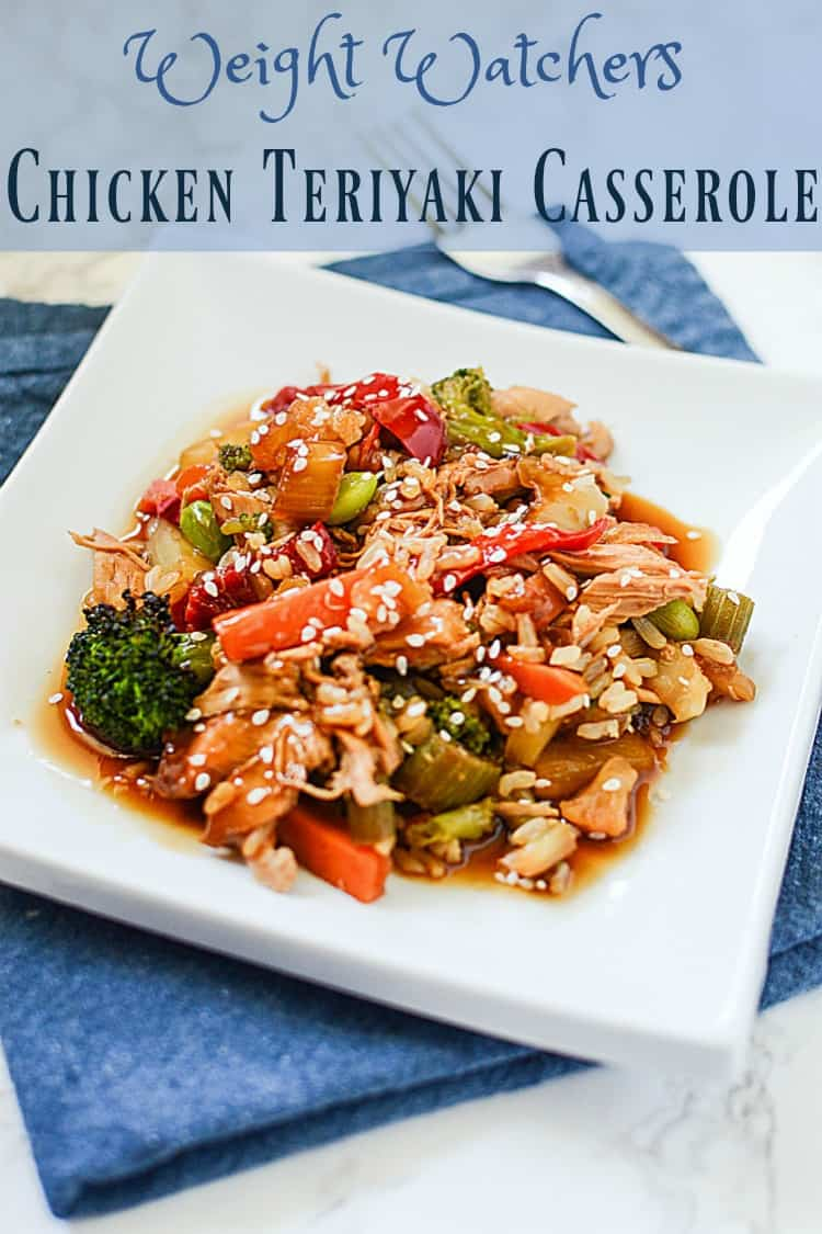This Weight Watchers Teriyaki Chicken Casserole Recipe will make your life easier. Not only is it delicious and Weight Watchers friendly, it's a time and money saver, too.