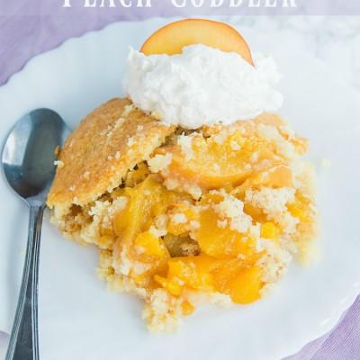 Weight Watchers Peach Cobbler Recipe