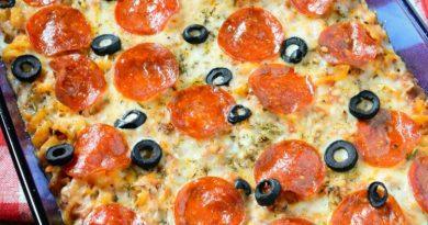 Weight Watchers Pepperoni Pizza Casserole Recipe