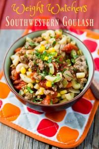 Weight Watchers Southwestern Goulash Recipe