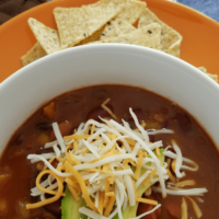 Vegetarian Weight Watchers Chili in Instant Pot
