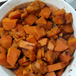 Candied Sweet Potatoes are a delicious option for holiday meals! This Instant Pot and Weight Watchers Recipe is ideal for Thanksgiving side dish needs with only 4 SmartPoints per serving!