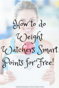 You'll have a bit more work to get the full effect of the Weight Watchers Smart Points program but it's well worth if you don't want to pay for the system!